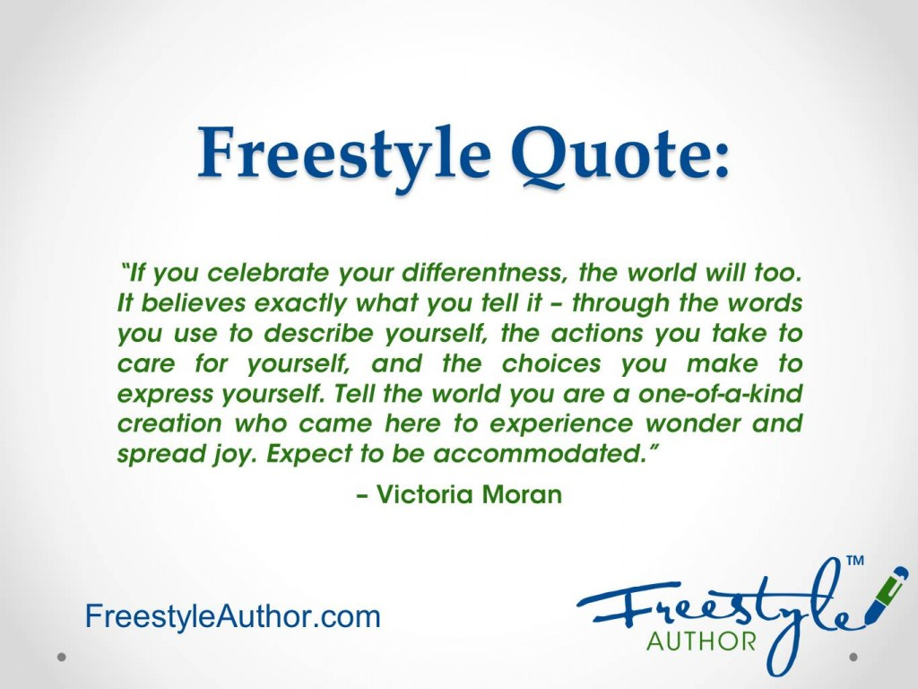 Celebrate Your Differentness